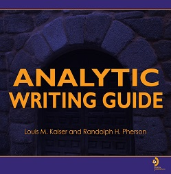 Click to order Handbook of Analytic Tools and Techniques
